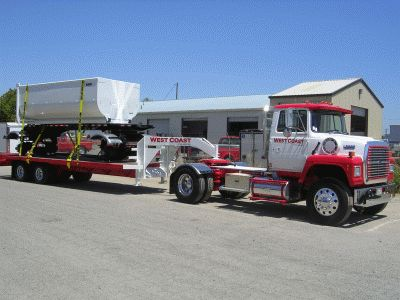 West Coast Frame & Collision Repair Truck and Trailer